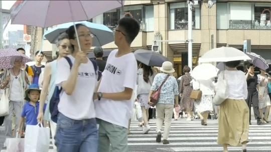 Onda de calor provoca 14 mortes no Japão