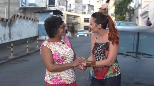 Conheça Maria Pirrya, moradora que faz a diferença na Rua Tuiuti