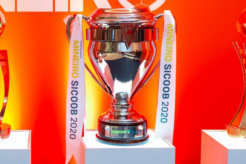 Troféu Campeonato Mineiro 2020 — Foto: Guilherme Breder