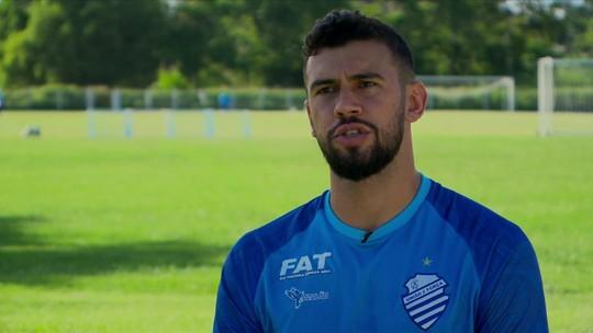 Luciano Castán, zagueiro do CSA, fala sobre jogar o primeiro Brasileirão da carreira