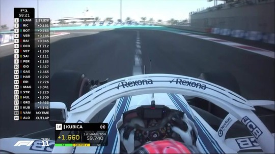 Com volante adaptado, Kubica dá amostra da temporada 2019 na Williams; veja vídeo