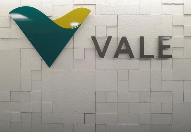 Logo da Vale no Rio de Janeiro, Brasil (Foto: Ricardo Moraes/Reuters)