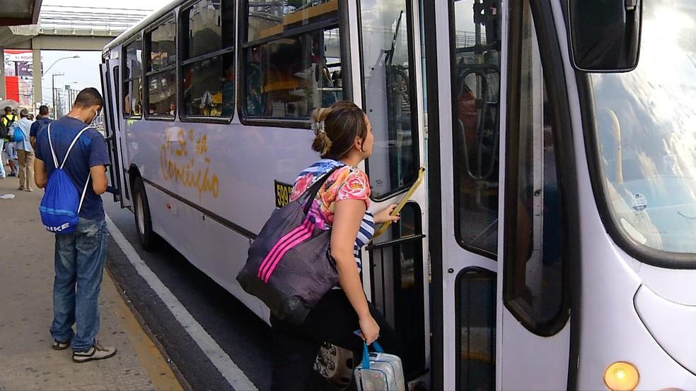 Prefeitura anuncia aumento na tarifa de ônibus, em Natal (arquivo) (Foto: Reprodução/Inter TV Cabugi)