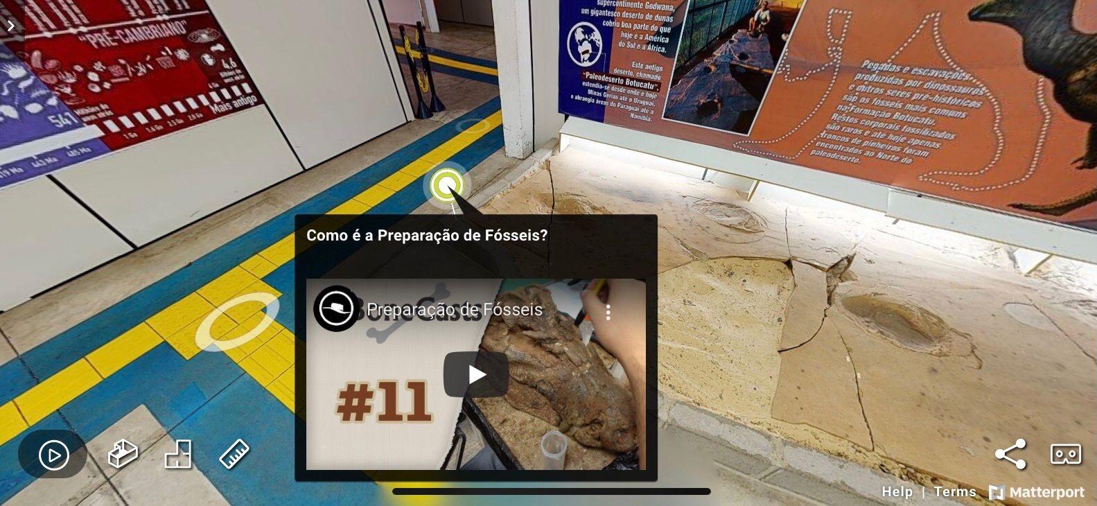 Museu em São Carlos oferece tour virtual com tecnologia criada por ex-aluno da UFSCar