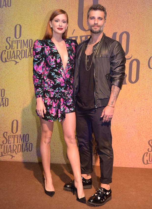 Marina Ruy Barbosa e Bruno Gagliasso (Foto: Selmy Yassuda)