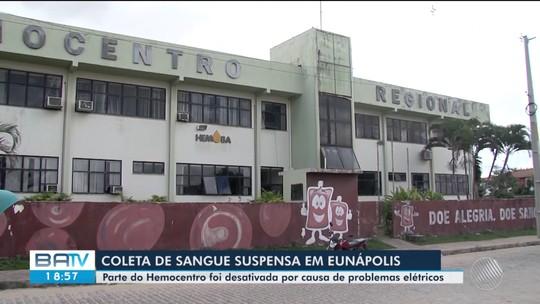 Hemocentro tem coletas suspensas há três meses após parte de prédio ser interditado por problemas elétricos na Bahia