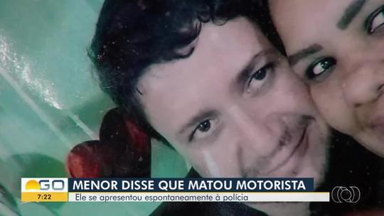 Mãe ouve menor contar a amigo que matou motorista de app e o convence a se entregar à polícia em Aparecida de Goiânia