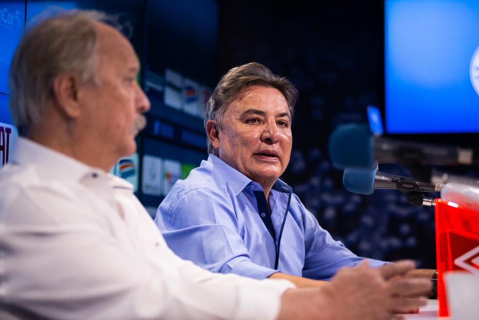 Zezé Perrella e Wagner Pires de Sá vão limitar remuneração de dirigentes — Foto: Bruno Haddad