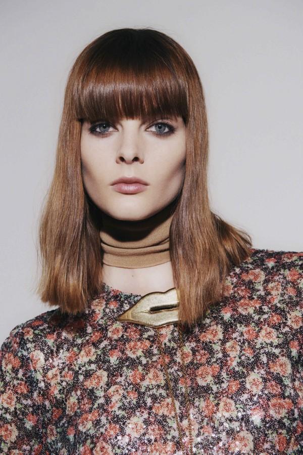 7 apostas de cabelo e maquiagem da London Fashion Week (Foto: Imaxtree)