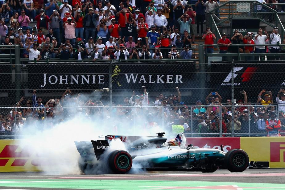 É tetra, é tetra! Hamilton chega em 9º no México e garante o quarto título na F1