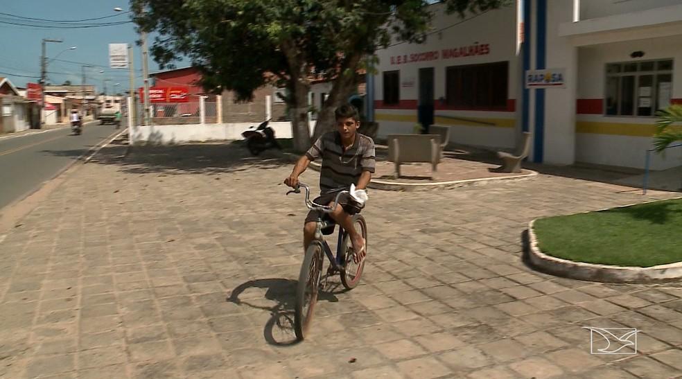 William Campelo voltou para casa sem conseguir os medicamentos que precisa — Foto: Reprodução/TV Mirante