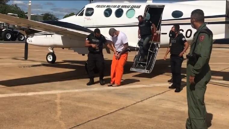 Presos em operação de combate ao tráfico de drogas no Paraguai chegam em Montes Claros