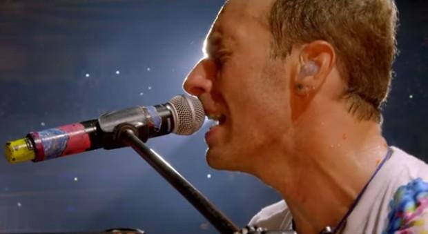 Coldplay lança clipe de Fix You de show em São Paulo (Foto: Reprodução)