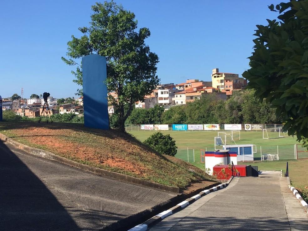 Bahia recebeu proposta de R$ 22 milhões pelo terreno do Fazendão — Foto: João Salvador