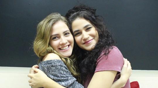 Hanna Romanazzi e Yasmin Gomlevsky agitaram redes do Gshow na reta final de 'Liberdade'
