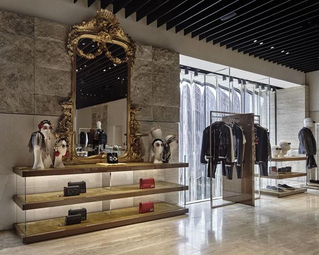 Estilistas da Dolce & Gabbana falam sobre a nova loja da grife em Miami (Foto: Divulgação)