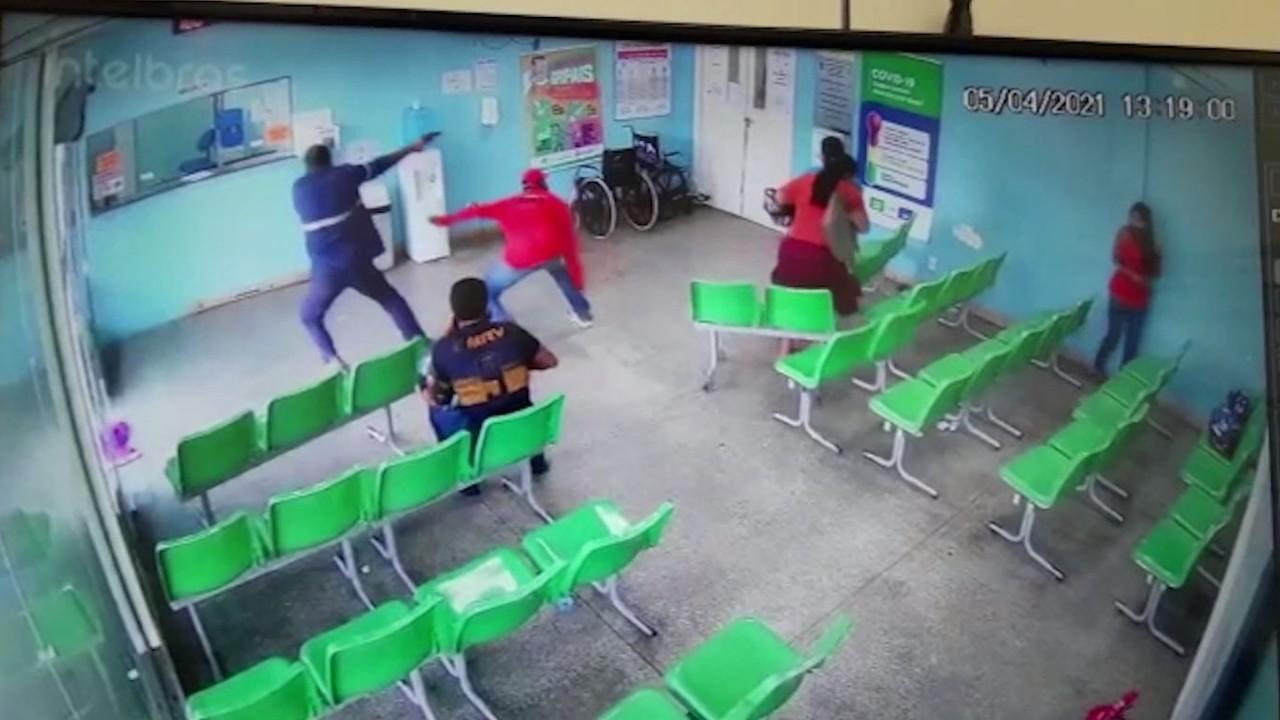 Vigilante é baleado durante tentativa de assalto em unidade de saúde de Manaus