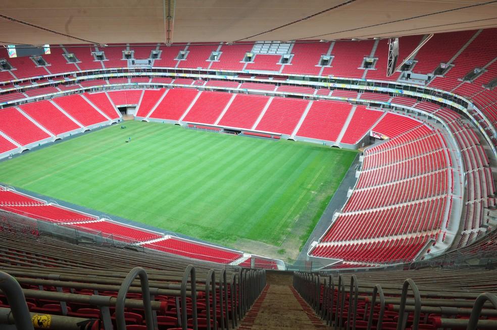 Estádio Mané Garrincha em março de 2015 — Foto: Tony Winston/Agência Brasília