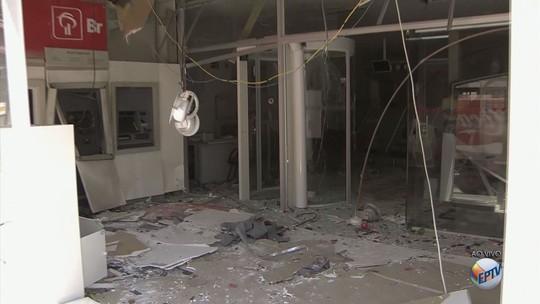 Série de ataques a bancos durante a madrugada assusta moradores de três cidades no Sul de MG