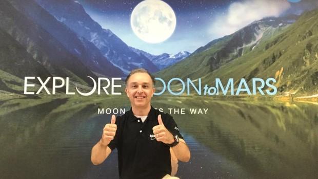 Jefferson Michaelis, diretor da KSC International Space Academy (Foto: Divugação)