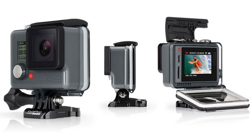 8de323a3b1e56 GoPro Hero+ LCD  nova câmera promete tela touchscreen e preço  baixo ...