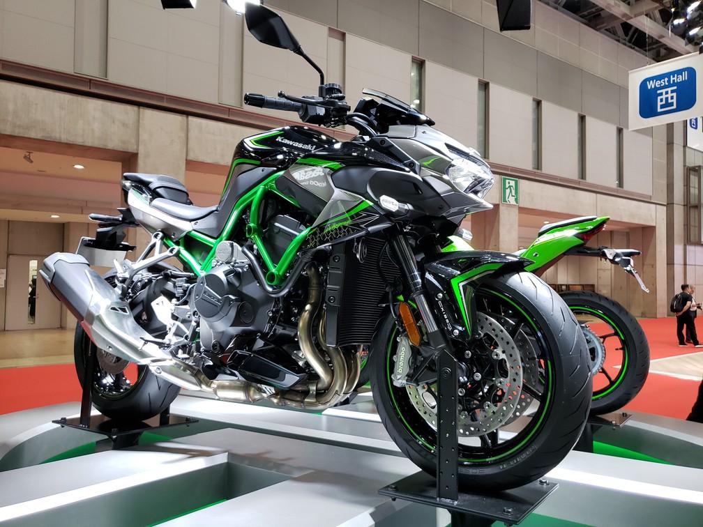 Kawasaki ZH2 — Foto: Rafael Miotto/G1