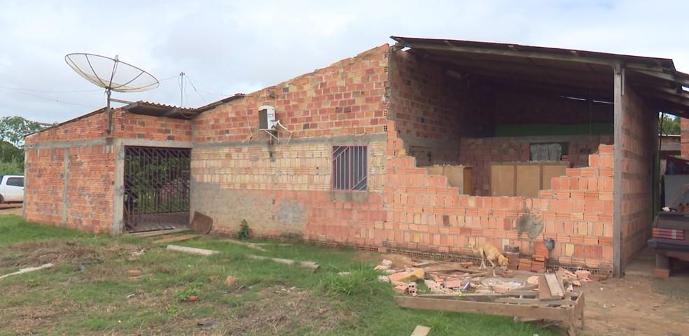 Chuva deixou estragos em Guajará-Mirim (Foto: Rede Amazônica/Reprodução)