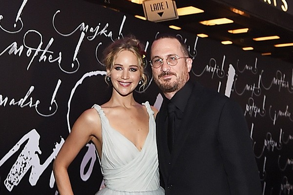 Jennifer Lawrence e Darren Aronofsky  (Foto: Getty Images)