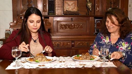 Programa mostrou como se faz a mjadra, o prato típico do Oriente Médio