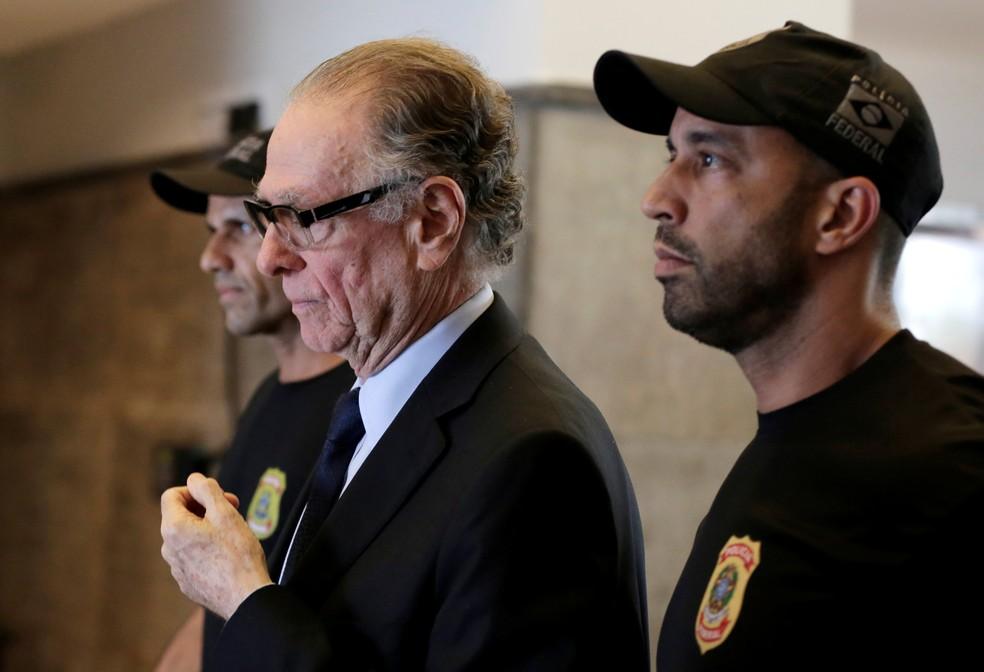 Carlos Arthur Nuzman foi preso na última quinta-feira (Foto: Reuters)