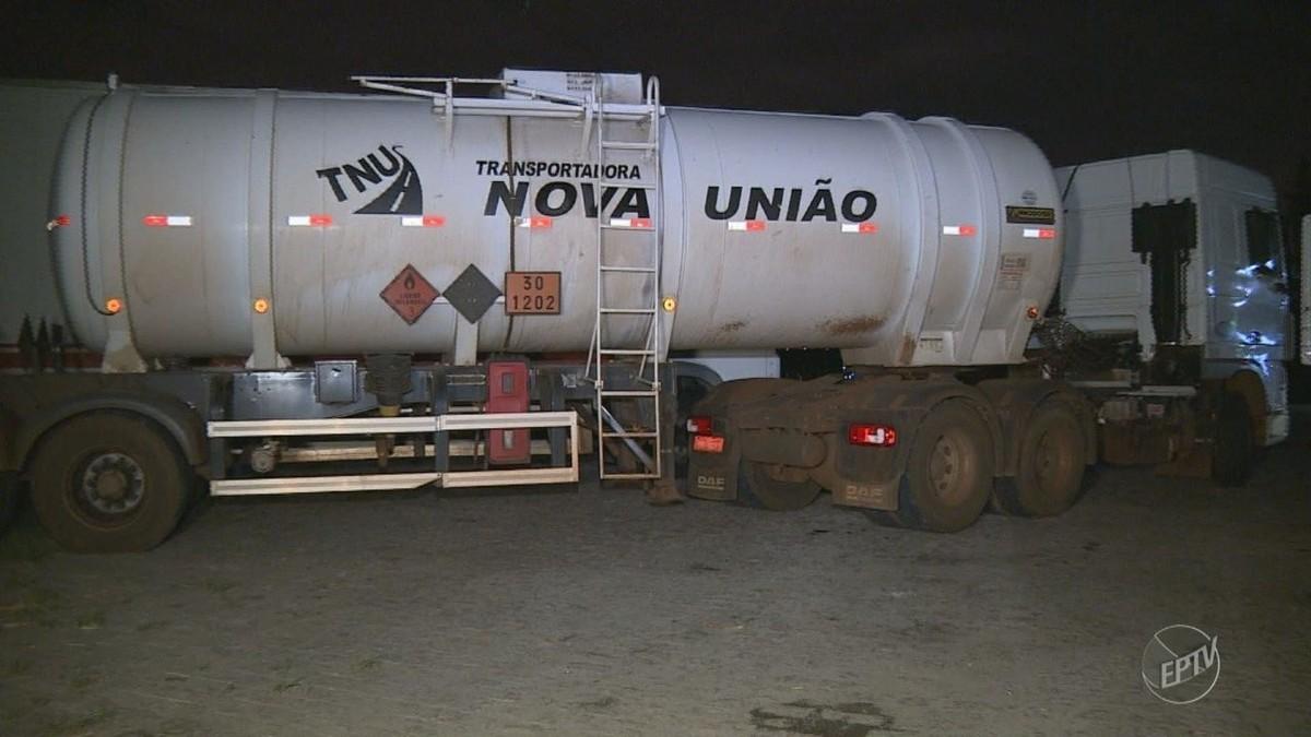 Polícia frustra tentativa de roubo a carga de diesel avaliada em R$ 180 mil em Valinhos