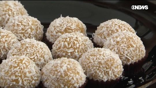 Aprenda uma receita exótica e deliciosa: o brigadeiro feito com buriti