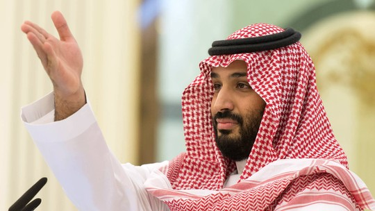 Foto: (Bandar Algaloud / Media Office Of Mohammed Bin Salman / AFP)