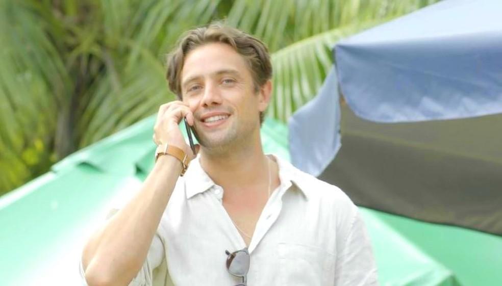 Daniel conversa com Alain e marca ida para Rosa Branca — Foto: TVGLOBO