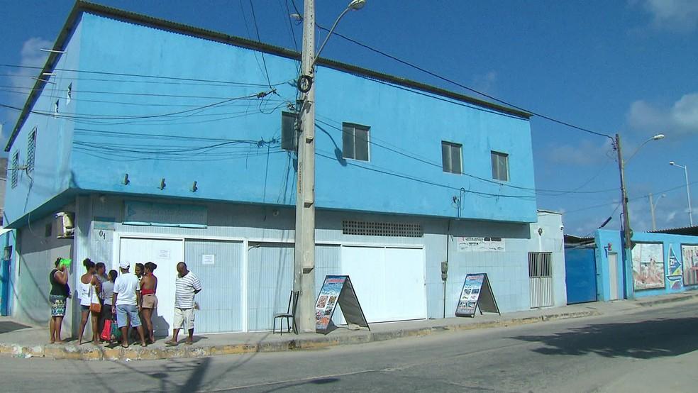 Colônia de Pescadores Z-1, do Pina, fica na Zona Sul do Recife — Foto: Reprodução/TV Globo