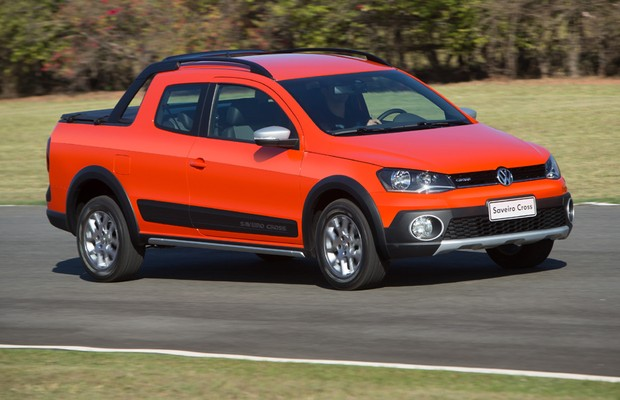 Aceleramos Na Pista A Volkswagen Saveiro Cross Cabine