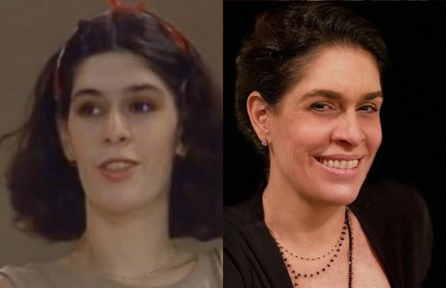 Longe da televisão desde 1995, Paula Lavigne interpretou Vânia, uma das filhas de Rosemere (Glória Menezes) (Foto: TV Globo/Reprodução/Instagram)