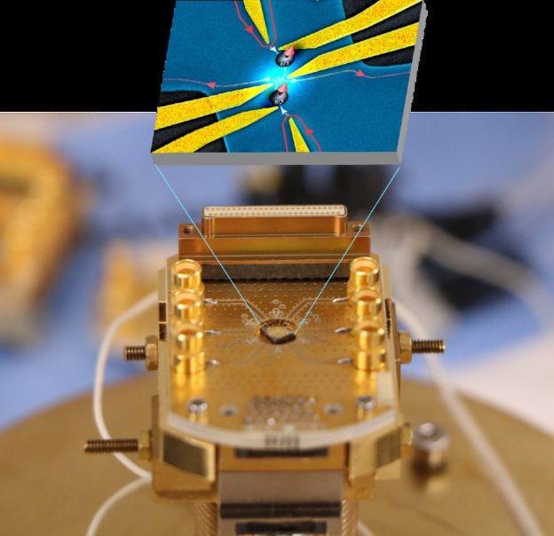 BBC - Por meio de uma experimento único, cientistas comprovaram a existência de partículas conhecidas como anyons (Foto: MANOHAR KUMAR)