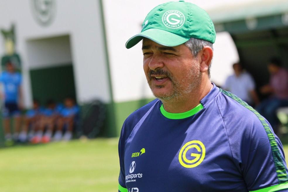 Ney Franco - técnico do Goiás — Foto: Rosiron Rodrigues / Goiás E.C.