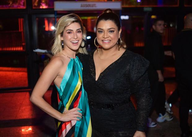 Fernanda Paes Leme e Preta Gil (Foto: V RebeL/Divulgação)