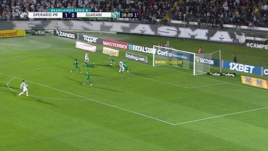 """Operário-PR desperdiça chances de gol, e Gusmão reclama: """"Precisamos melhorar"""""""