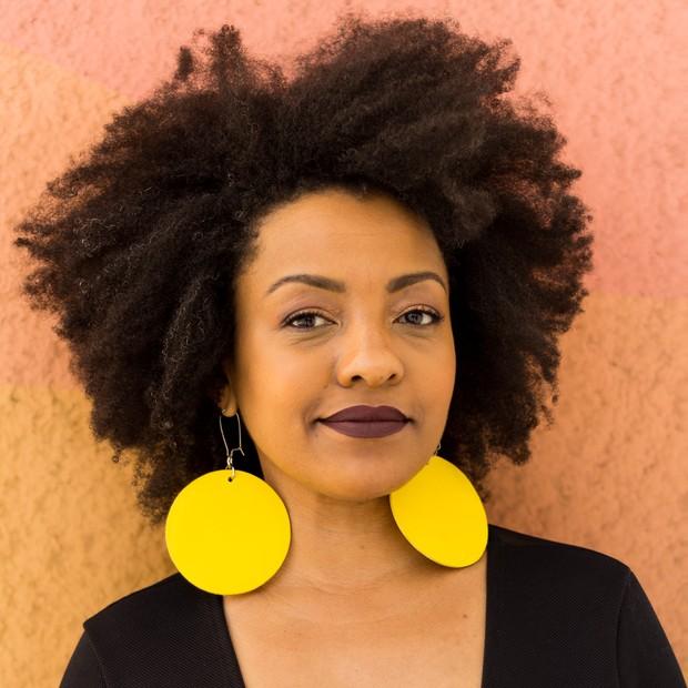 Rosangela da Silva: a fluminense criou a Negra Rosa, marca de beleza que atende a diversidade de tons da pele negra (Foto: Divulgação)