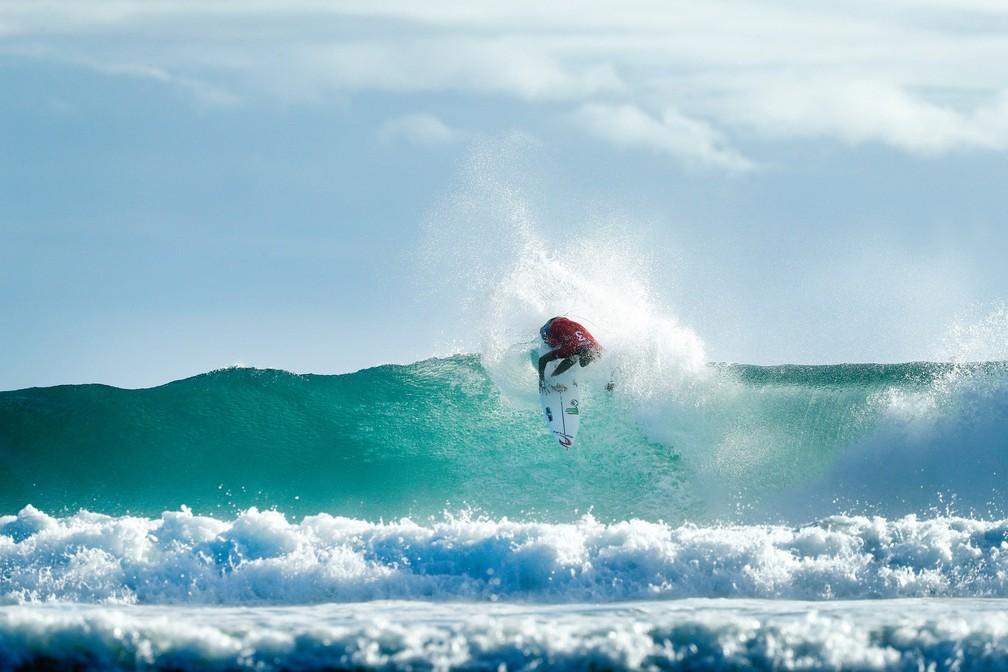 Owen Wright estreou bem na Gold Coast  (Foto: Divulgação/WSL)
