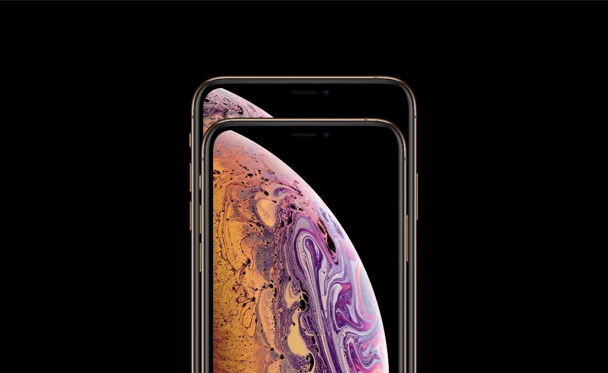 O iPhone XS e o XS Max em um comparativo de tamanho (Foto: Divulgação)