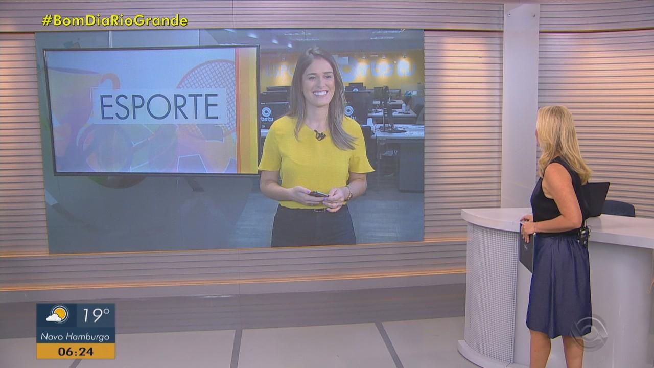 Confira os destaques do esporte no Bom Dia Rio Grande desta sexta-feira (9)