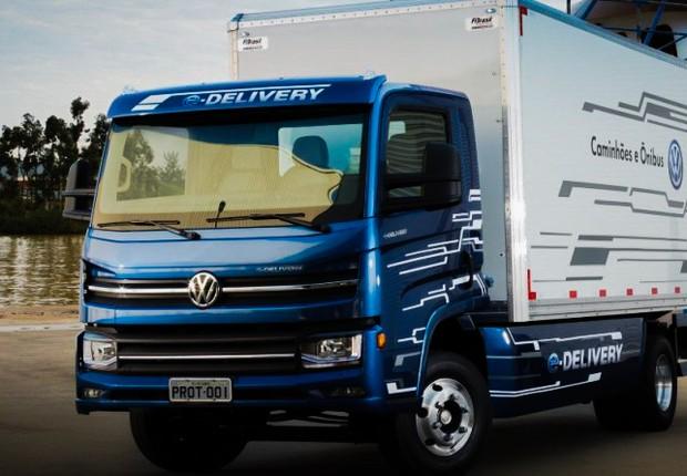 Volkswagen lança caminhão elétrico projetado no Brasil (Foto: Divulgação)