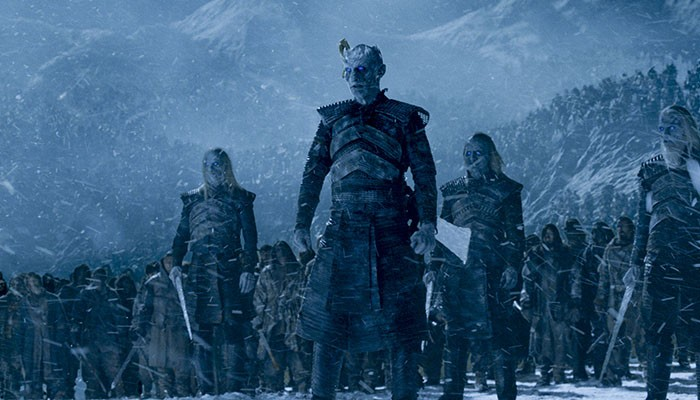 "Os White Walkers de ""Game of Thrones"" (Foto: Divulgação)"