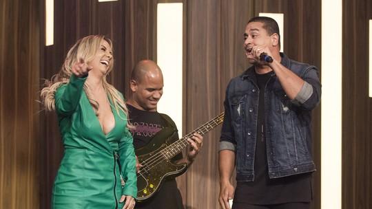 Carla Perez comenta sua dança com Xanddy no 'Tamanho Família': 'Danço pra ele com todo o amor do mundo'