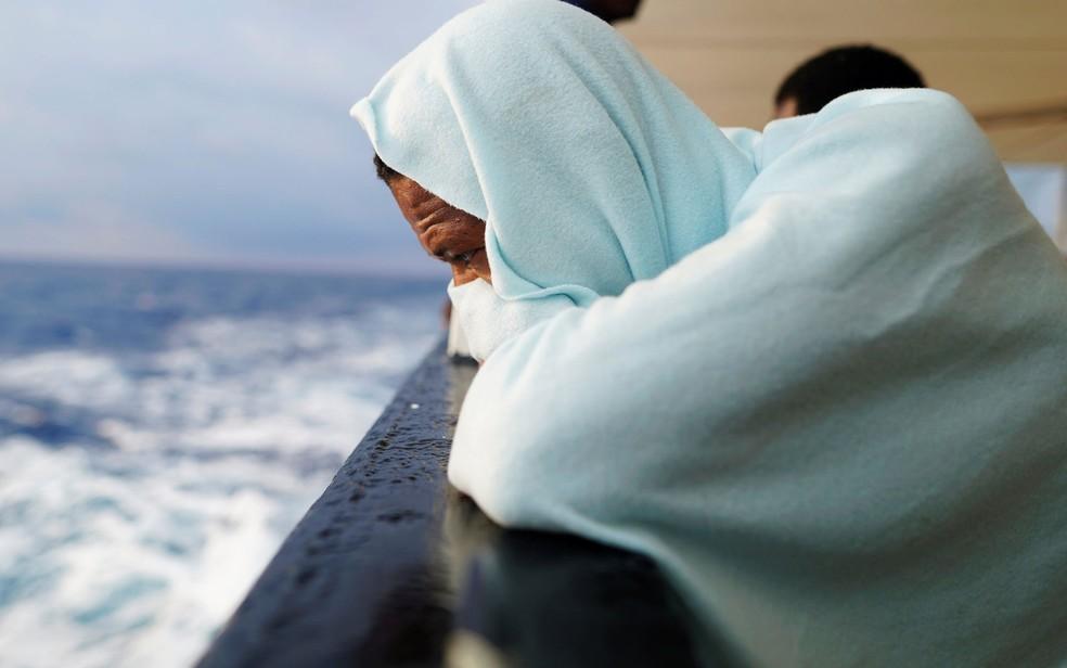 -  Os imigrantes foram trazidos de países africanos e são explorados como mendigos na França  Foto: Reuters/Juan Medina