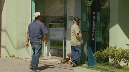 Morre homem baleado em troca de tiros durante tentativa de assalto a banco em Guaranésia, MG